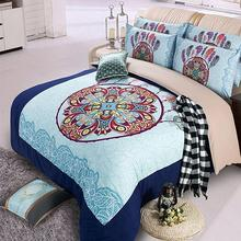 Free shipping via UPS Indians Dreamcatcher twin/single full queen size 3/4pcs without filling bedding set home textile(China (Mainland))