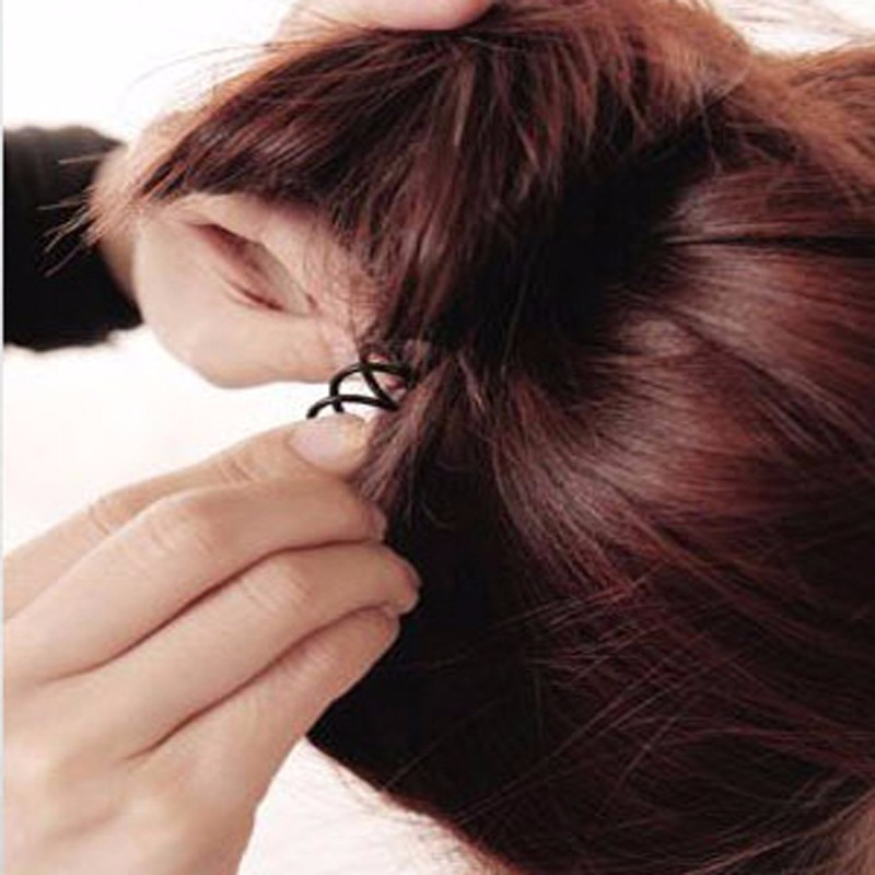 10pcs Spiral Spin Screw Pin Hair Clip Professional Twist Barrette Hairdresser Tools Hairpin Clips For Hair Accessories(China (Mainland))