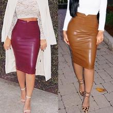 Women Fashion Stretch Waist Short Mini Skirts Sexy Pencil Clubwear Gray Color Bandage Rayon Good Elastic Pleated 2014 New CHIC!