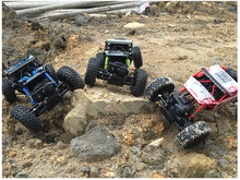 RC Car 4WD 2.4GHz Rock Crawlers Rally climbing Car 4x4 Double Motors Bigfoot Car Remote Control Model Off-Road Vehicle Toy(China (Mainland))
