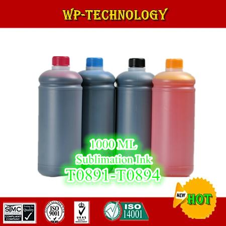 1L*4 pcs Sublimation ink suit for Epson S20 SX100 SX200 SX205 SX400 SX405 SX21 SX110 SX210 etc , suit for T0891 -T0894 ,4L Total