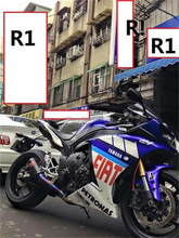 Motorcycle short exhaust titanium YZF R1 Akrapovic motorcycle gp exhaust pipe(China (Mainland))