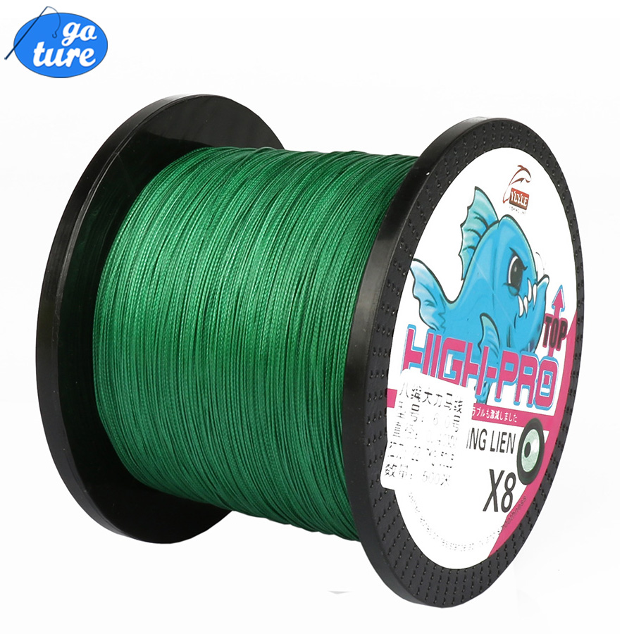 Goture 8 STRANDS 500M PE Braided Fishing Line Super Strong Japan Multifilament Line Jig Carp Fish Line Wire<br><br>Aliexpress