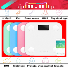 Original yunmai mini smart weighing scale digital scale Body fat scale health scale support Android4.3 IOS7.0 Bluetooth 4.0(China (Mainland))