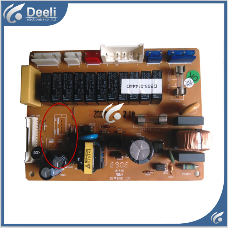 95% new good working for air conditioner control board pc board DB93-01444D good work(China (Mainland))