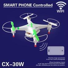 Cheerson CX-30w 4CH 2.4GHz 4-Axis Gyro FPV Mini Drone RC Quadcopter UFO HD Camera Video Photo Wifi Real Time Video Drones