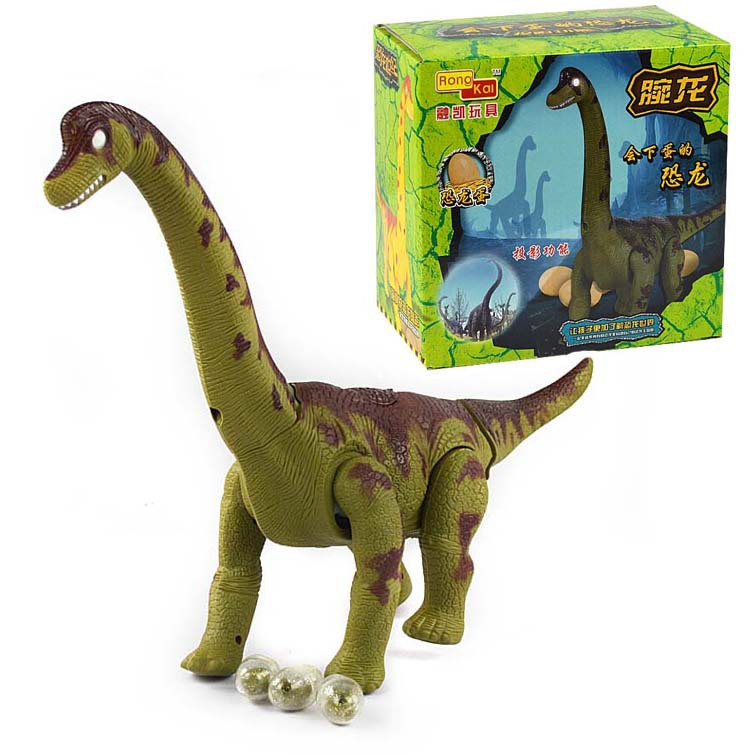 Free Shipping Funny Electronic Movable Dinosaurs Toys Promotion Toys Lay Eggs Dinosaurs Toys(China (Mainland))