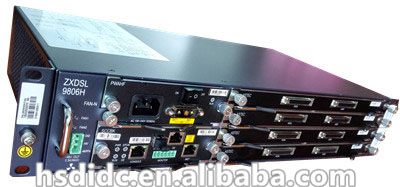 ZTE digital access device 9806H olt onu chassis in guangzhou(China (Mainland))