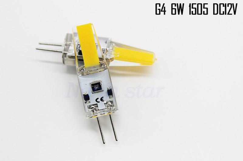 G4 6W DC12V COB 222