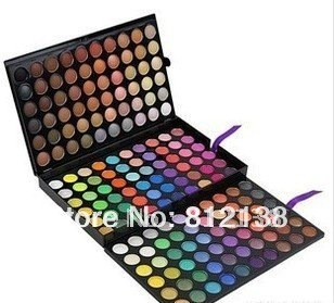 free shipping ! Pro 180 Colour Shimmer matte Eyeshadow Eye shadow make up Palette 3 layer SP180, HS-A256