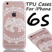 Cute Soft TPU Mobile Phone Cases Case For iPhone 5C 5S 6 6S Plus Phone Back Cover Bags