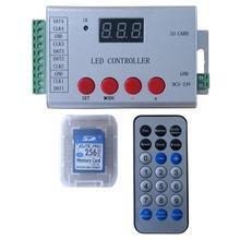 Из светодиодов полноцветный программируемый контроллер, Беспроводная пульт дистанционного управления, 4 порта привод dmx512, Ws2811, Tm1812.etc. Карта SD и программного обеспечения