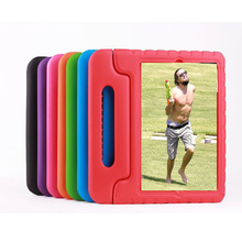 Hot Sale Luxury Baby Shock Proof Silicone Kids Protective Safe Foam Eva Handle Stand Case Cover For Ipad 2 3 4/ipad air 5 Shell(China (Mainland))