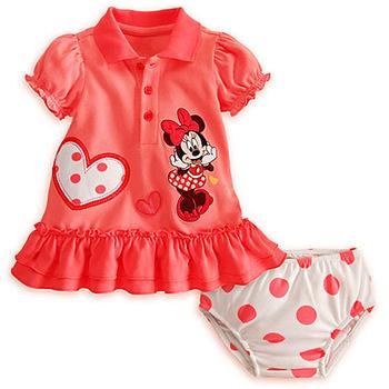 girls minnie suits baby lovely clothing sets Mini dress+shorts 2pcs sets wholesale 5pcs/lot free shipping