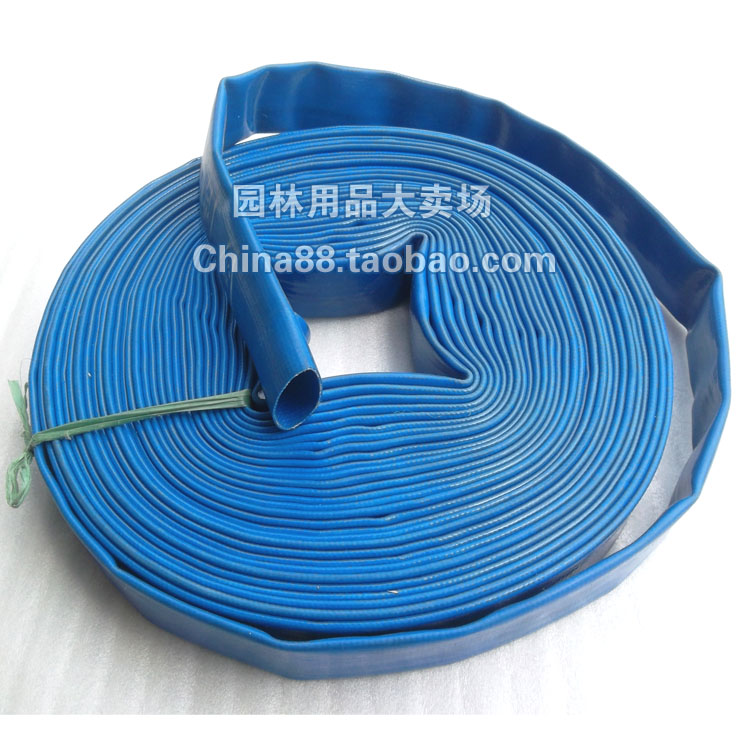 freeshipping 1 1 2 x100m blue water hose garden hose pvc. Black Bedroom Furniture Sets. Home Design Ideas
