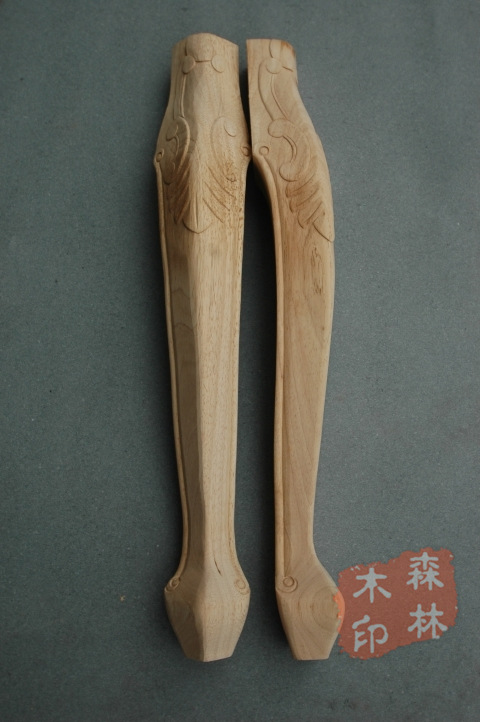 Wood antique furniture rubber wood handmade table carved solid wood cabinet 65 8(China (Mainland))