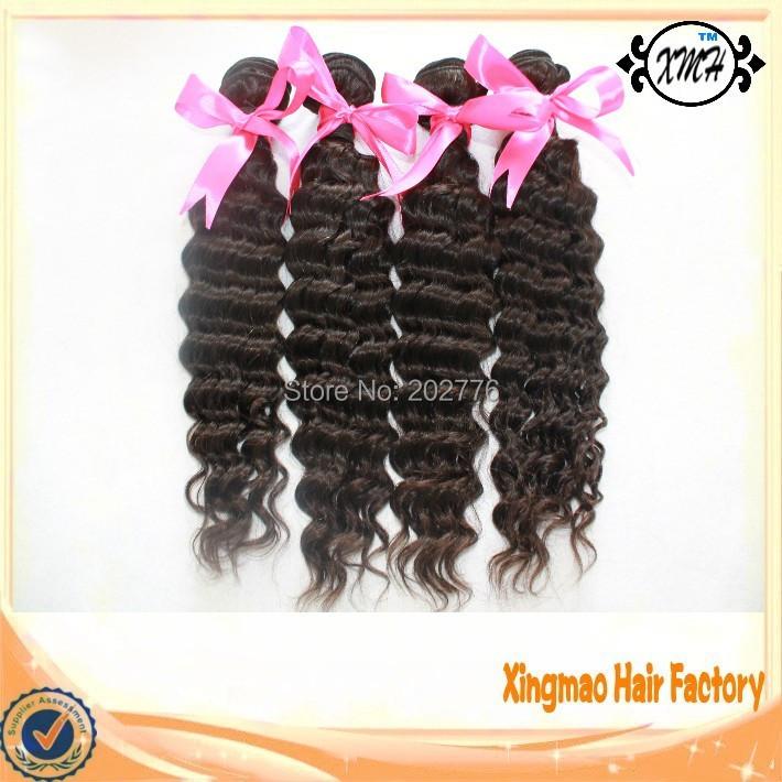 Peruvian wet and wavy hair deep wave 7A virgin peruvian human hair weft extension unprocessed virgin hair bundles 4pcs lot<br><br>Aliexpress