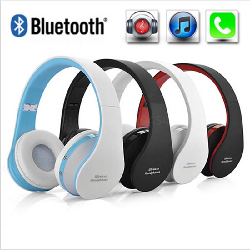 Handsfree Stereo Foldable Wireless Headphones Casque Audio Bluetooth Headset Cordless Earphone for Computer PC Head Phone Set(China (Mainland))