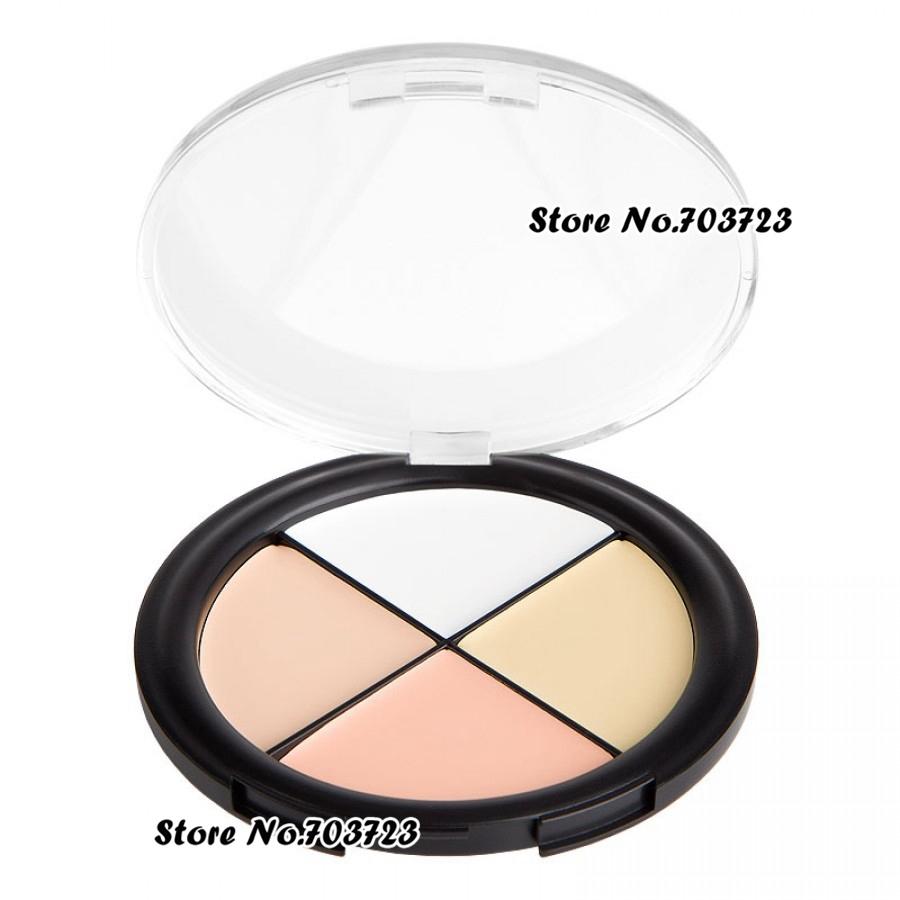 Convenient Palette 4 Color Concealer Palette Camo Quad Light skin tones 2# N02(China (Mainland))