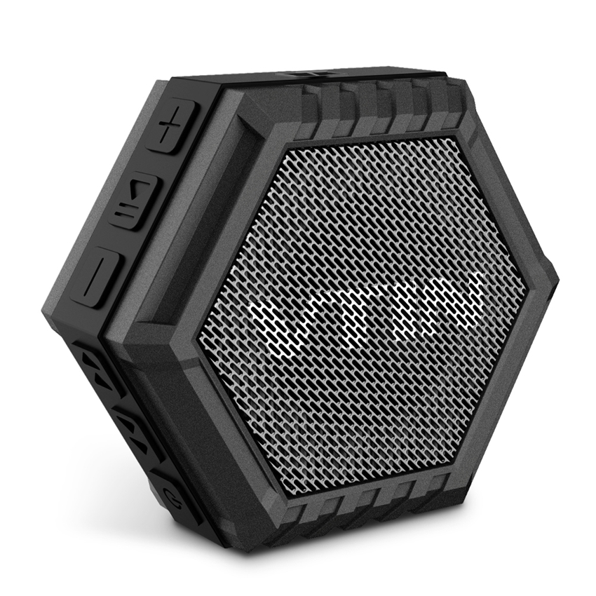 VTIN Portable Waterproof Bluetooth Speaker Outdoor 5W Driver Speaker with Bass, Stereo Sound for iPhone & Android Deveices(China (Mainland))