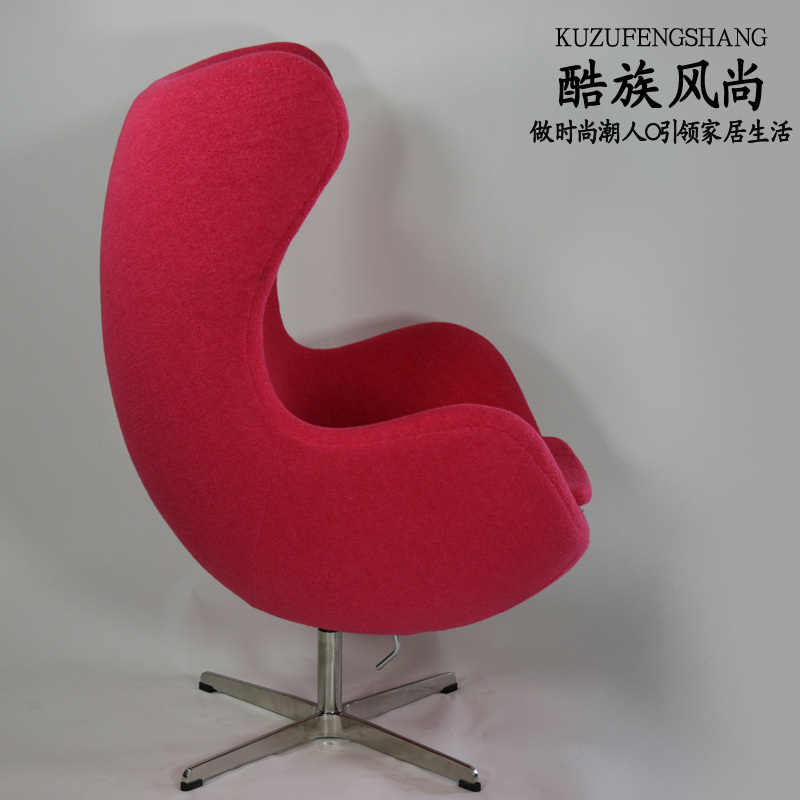 arne jacobsen egg chair glass ball chair swivel chair egg color can be customized china arne jacobsen egg