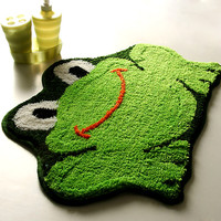 2013 brand frog mats cartoon slip-resistant mats doormat carpet bath mat size 45* 65cm