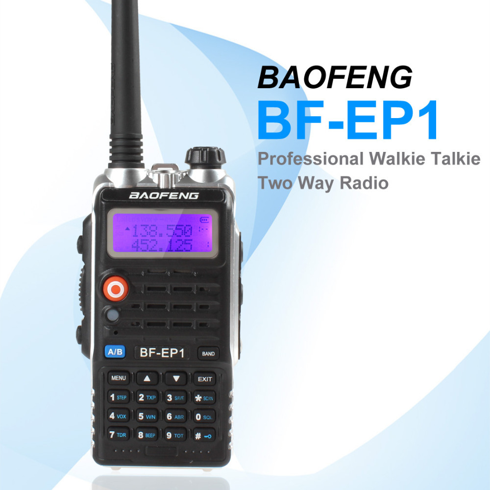 3pcs Walkie Talkie BaoFeng VHF 136-174MHz / UHF 400-480MHz 128CH BaoFeng Walkie Talkie Support Dual Watch & Reception(China (Mainland))