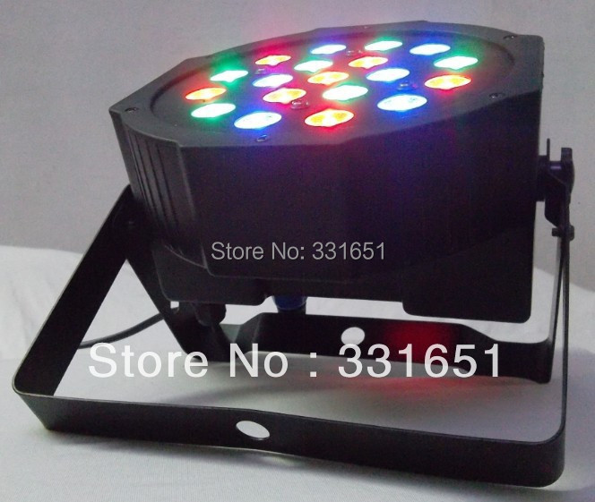 6pcs/lot Fast Shipping 2013 Hot Seller Flat Slim LED Par Wash 7 Channels 19x3W Stage New LED Par 56(China (Mainland))