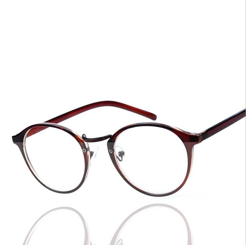 2015 New Eyeglasses Frame Retro Round Optical Frame Brand ...