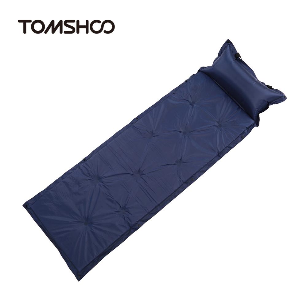 Camping Mat Inflatable Sleeping Pad Camping Air Mattress Portable Folding Beach Mat Self Inflating Camping Mattress(China (Mainland))