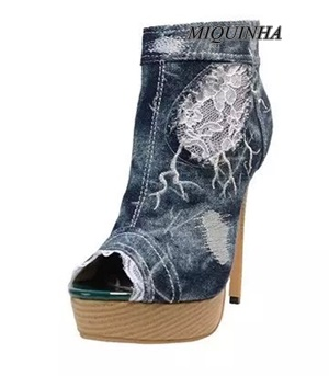 Compare Prices on Blue Jean High Heels- Online Shopping/Buy Low ...