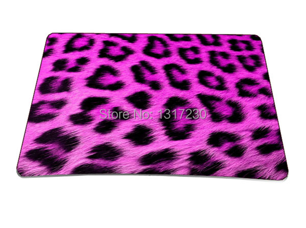 Fashion Pink Leopard Multi-element Silicon Anti-slip Mousepad Computer Mouse Pad Mat Optical Laser Mice Trackball - Shen Zhen Waterfly Trading Company store