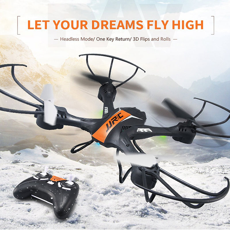 Mini RC Drone JJRC H33 kvadrokopter 2.4G 4CH 6 Axis Gyro RC Quadcopter Headless Mode one Key return With Flash Lights VS H36