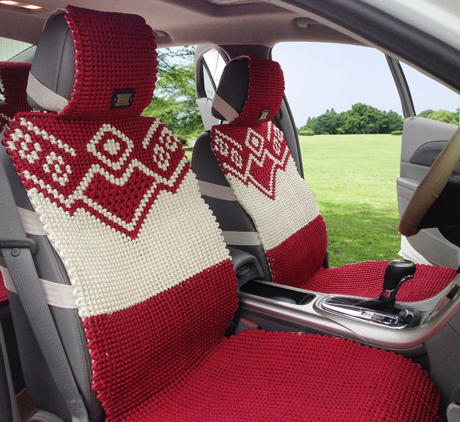 summer car seat cushion hand knitted viscose upholstery terylene quality four seasons mat auto. Black Bedroom Furniture Sets. Home Design Ideas