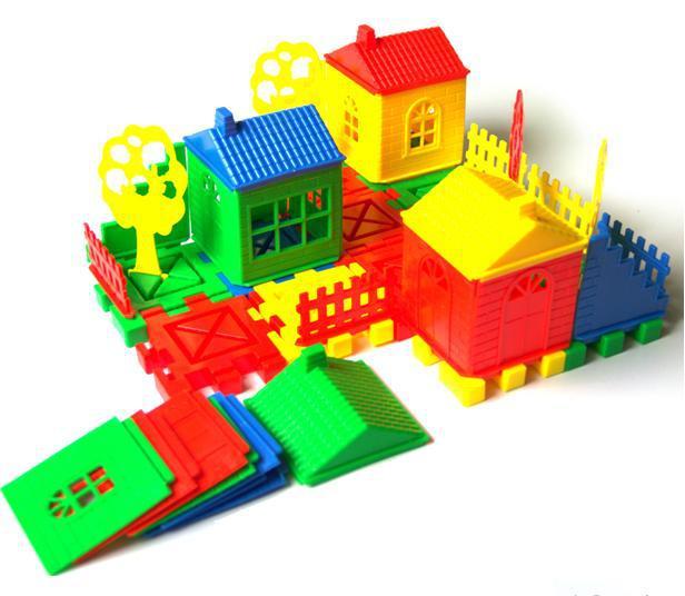 Free Shipping Child Blocks Toy Assembling Building Blocks
