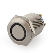 Buy CSS 2A / 3V push button switch push button 12 mm nickel-plated brass bell push for $1.33 in AliExpress store