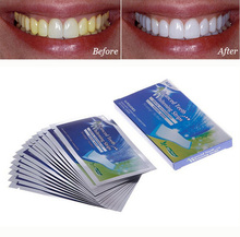 14Pairs New Teeth Whitening Strips Gel Care Oral Hygiene Clareador Dental Bleaching Tooth Whitening Bleach Teeth Whiten Tools(China (Mainland))