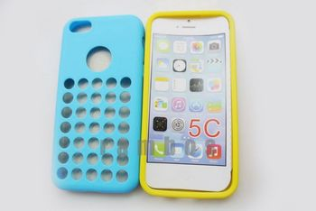 300pcs/lot For Official Case TPU Back Cover Case for iphone 5c free shipping