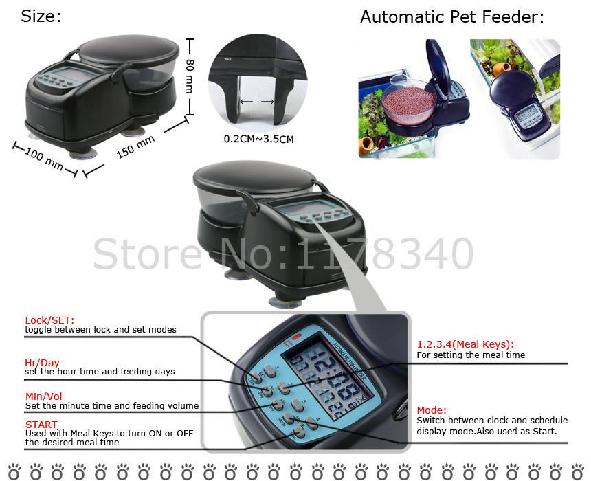 Товары для кормления рыб WonShang 4 WS-FF03