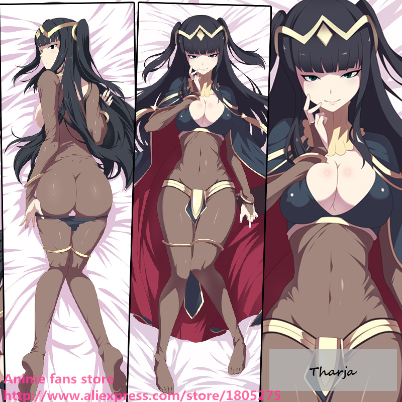 Sexy Japanese Anime Fire Emblem Tharja Cool Otaku Dakimakura Pillow Case Cover decorative Hugging Body Bedding