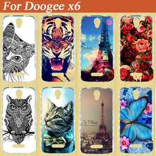 Cartoon fashion Printed SOFT TPU cover Case For DOOGEE X6 / X6 PRO Back Cover Case FOR DOOGEE X6 Soft Silicone Bag Phone Cases