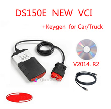 For Delphis DS150E New Vci V2014R2 Diagnostic Tool For Autocom ds 150 TCS CDP Pro Plus OBD2 with Keygen(China (Mainland))