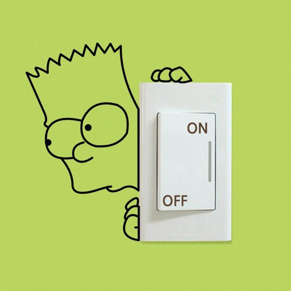 Black Simpson Font B Switch