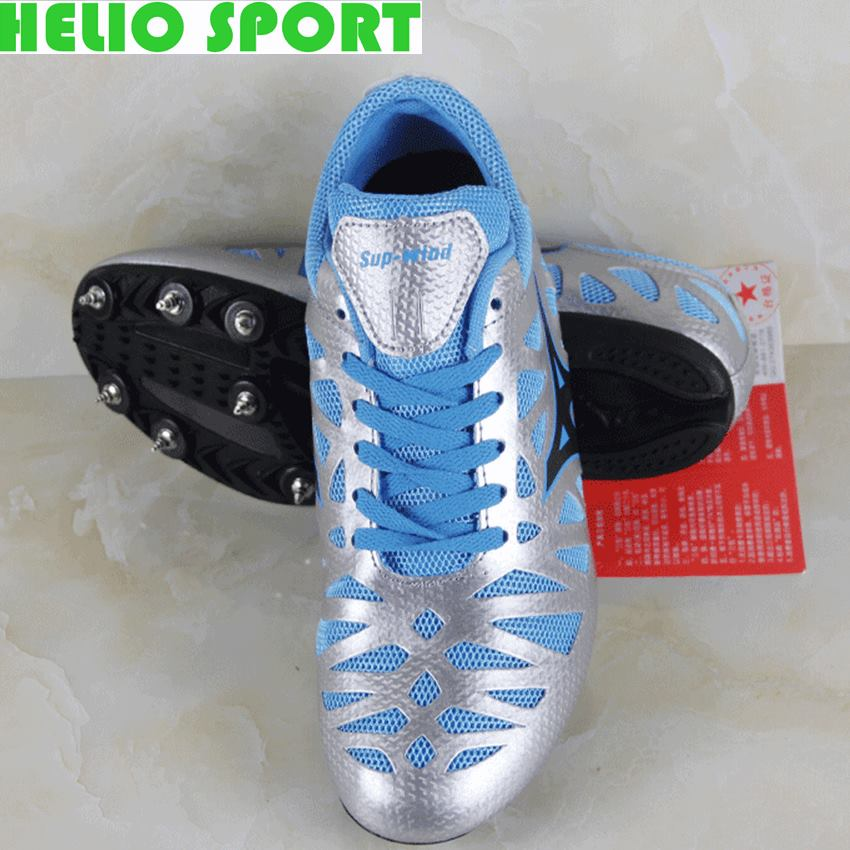 breathable sport track field trainers athletic sneakers shoes sprint dash ultralight long race spikes light running shoes women(China (Mainland))