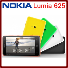 Nokia Lumia 625 Unlocked Mobile phone 4.7 inch Touch screen Dual core GPS WIFI 3G 4G network free shipping one year warranty(China (Mainland))