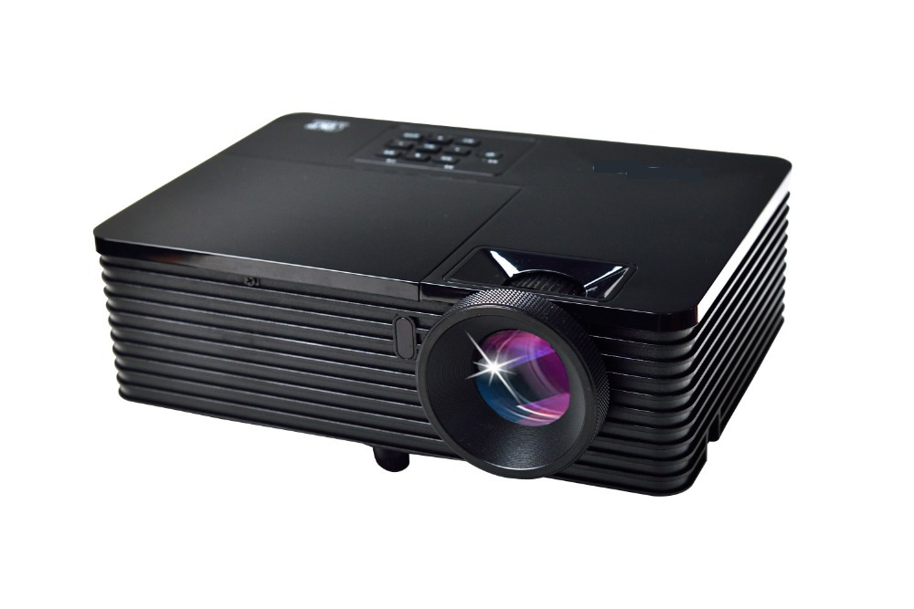 5500lumens business education office portable 3d projector for Best pocket projector for business