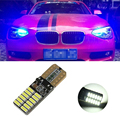 1pcs W5W T10 24SMD 4014 Led with Projector Lens Clearance Light for BMW M 1 3