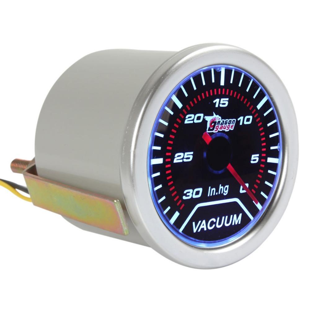 Led Automotive Gauges : Aliexpress buy quot mm vacuum meter gauge for auto