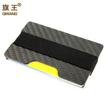100% Real Carbon Fiber Slim Wallet 3K Carbon Credit Card Holder for Men Luxury and Durable Card Case Wallet Men Pocket Purse(China (Mainland))