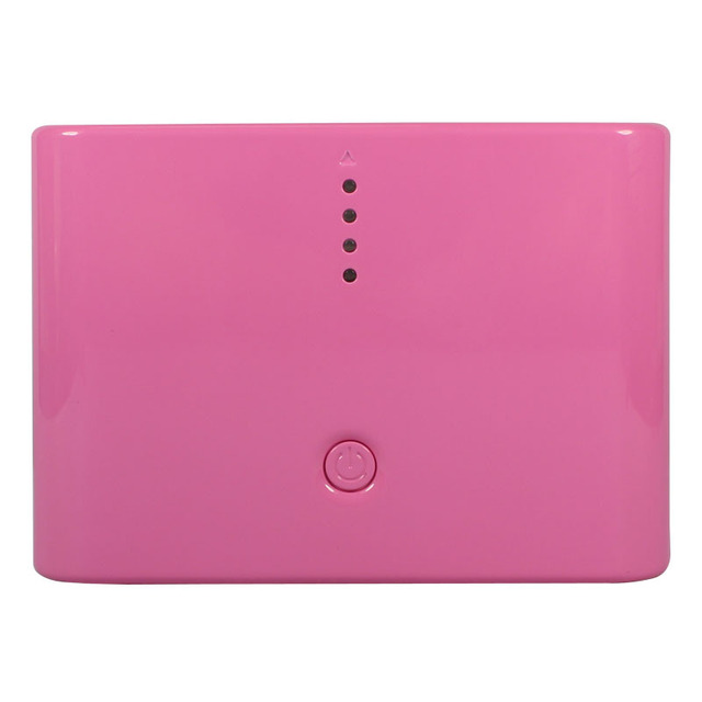 Free Shipping 10400mAh battery power bank built-in 18650 cell Dual USB output for iPhone,PSP,camera,laptop,tablet